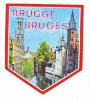 AUTOCOLLANT  STICKER  BRUGGE  BRUGES - Aufkleber