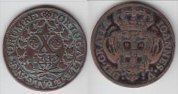 **** PORTUGAL  - 10 REIS 1749 - X REIS 1749 JOHN V **** EN ACHAT IMMEDIAT !!! - Portugal