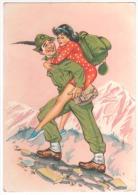 Cartolina Umoristica - Alpini - Humour