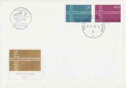 CEPT - Europa - 1971 - Jugoslavië - Michel 1416 - 1417 - 1971