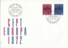 CEPT - Europa - 1972 - Zwitserland - Michel 969 - 970 - 1972