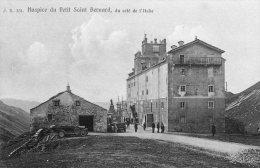 [DC7009] VALLE D'AOSTA - HOSPICE DU PETIT SAN BERNARD - DU COTE' DE L'ITALIEAOSTA - Old Postcard - Italia