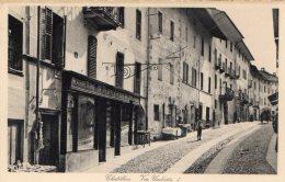 [DC7010] VALLE D'AOSTA - CHATILLON - VIA UMBERTO I - Old Postcard - Italia