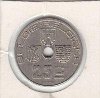 25 CENTIMES Cupro  Nickel Léopold III 1938 FL/FR - 1934-1945: Leopold III