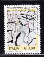 2007 PARI OPPORTUNITA'    0,60 €  USATO - 6. 1946-.. Repubblica
