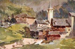 [DC7012] VALLE D'AOSTA - COURMAYEUR - LA SAXE - Old Postcard - Italia