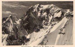 [DC7014] VALLE D'AOSTA - COURMAYEUR - MASSIF DU M. BLANC - Old Postcard - Italia