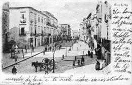 [DC7017] BARLETTA - CORSO VITTORIO EMANUELE - Viaggiata - Old Postcard - Barletta