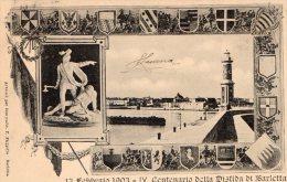 [DC7019] BARLETTA - 13 FEBBRAIO 1903 IV CENTENARIO DELLA DISFIDA DI BARLETTA - PERFETTA! - Viaggiata - Old Postcard - Barletta