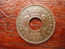 BRITISH EAST AFRICA USED ONE CENT COIN BRONZE Of 1951 KN. - East Africa & Uganda Protectorates