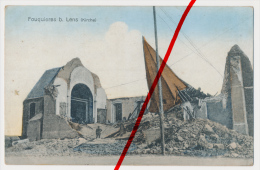 PostCard - Fouquières-lès-Lens - Kirche Eglise - Ca. 1915 - Lens