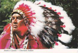 JESSIE LOSSIE , CHEROKEE INDIAN - Native Americans