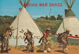 . INDIAN WAR DANCE ,INDIAN CITY - Native Americans