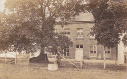 Overpelt. -  Zeldzame Fotokaart;  12de Eeuwse  Boerderij Met Boomgaard En Bijgebouwen; 1908  Het Hobos - Overpelt
