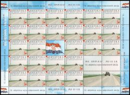 """Croatia 2005, 10th Anniversary Of The Military Police Operations """"Flash"""" And """"Storm""""., Mi.#716, MNH /** - Kroatië"""