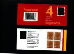 GREAT BRITAIN - 52 P.  WINDOW (Harrison)  Code E  BOOKLET MINT NH  GA 1 - Booklets