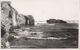 TZU39 Arch And Chapel Rocks Perranporth  2  Scans - England