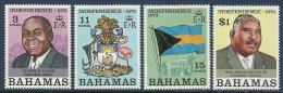 BAHAMAS - COMPLETE SET NATIONAL INDEPENDENCE 1973 - MNH - Bahamas (1973-...)