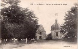 """Cpa VITRE, """"les Rochers"""" Parquise De La Marquise De Sévigné   (23.25) - Vitre"""