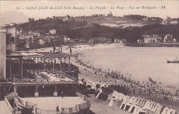 64 - St Jean De Luz - La Pergola - La Plage -vue Sur Bordagain (animation) - Saint Jean De Luz