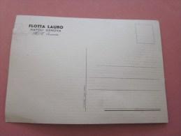 CPA Carte Postale Paquebot Flotta Lauro M/n SURRIENTO ITALIE ITALIA Napoli Genova - Dampfer