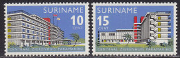 2198. Suriname, 1966, Opening Of The New Hospital In Central Paramaribo, MNH (**) - Surinam