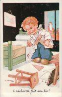 GOUGEON  ILLUSTRATEUR  ENFANTS   HUMORISTIQUE  ARCHITECTE - Gougeon