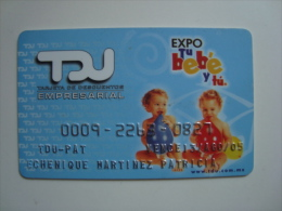 MEXICO - TDU CARD - EXPO TU BEBE - Other Collections
