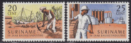 2204. Suriname, 1966, 50 Years Of Bauxite Industry, MH (*) - Surinam