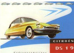 Citroen DS ID Automobile..voiture..DS 19 Citroën - Passenger Cars