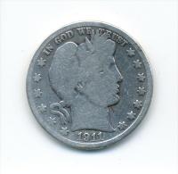 USA Half Dollar 1911 - Émissions Fédérales