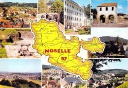 CARTE POSTALE DE LA MOSELLE - MULTIVUES - France