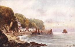 E.D. Percival - View Across To Clovelly Harbour In Devon   -  6280 - Tuck, Raphael