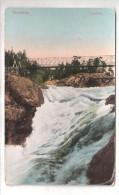 NORWAY NORVEGE Trollhatten Toppofallet Bridge Postage Due Mark Used - Norvège