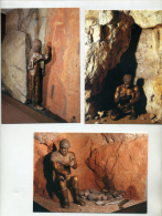 Préhistoire, 3 Cartes, Menton, Mont Bégo, Graveur, âge Du Bronze,Homo érectus, Vallonnet, Grotte De Cavillon,sépulture - Musei