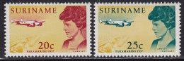 2210. Suriname, 1967, Amelia Earhart, MH (*) - Surinam