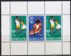 2213. Suriname, 1967, For The Child, Block, MH (*) - Surinam