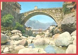 CARTOLINA NV ITALIA - PONT ST. MARTIN (AO) - Antico Ponte Romano Sul Torrente Lys - 10 X 15 - PERFETTA - Italia