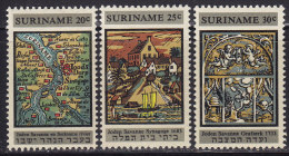 2216. Suriname, 1968, Restauration Of Synagogue In Jodensavanne, MH (*) - Surinam