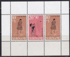 2220. Suriname, 1968, For The Child, Block, MH (*) - Surinam