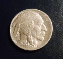 1913 T1 Buffalo Nickel - 1913-1938: Buffalo