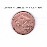 COLOMBIA    5  CENTAVOS  1970  (KM # 206) - Colombia