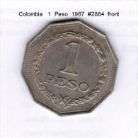 COLOMBIA    1  PESO  1967  (KM # 229) - Colombia