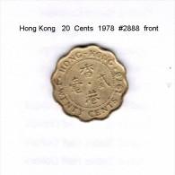 HONG KONG    20  CENTS  1978  (KM # 36) - Hong Kong