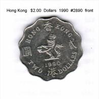 HONG KONG    $2.00  DOLLARS  1990  (KM # 60) - Hong Kong