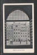 POLAND 1955 WARSAW OLD TOWN VIEW TO THE BARSSA SIDE OLD TOWN SQUARE UNUSED VG VERY GOOD CONDITION - Poland