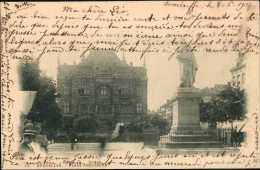 Bruxelles - Place Anneessens 1901 - Zonder Classificatie