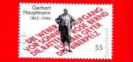 GERMANIA - USATO - 2012 - 150 Della Nascita Di Gerhart Hauptmann - 55 - Gebraucht