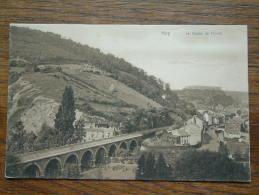 Le Viaduc De Chinet ( Ser. Huy N° 22 ) - Anno 1912 ( Zie Foto Voor Details ) !! - Hoei