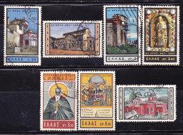 Grecia 1963-Monte Athos-Serie Non Completa Usata - Usati